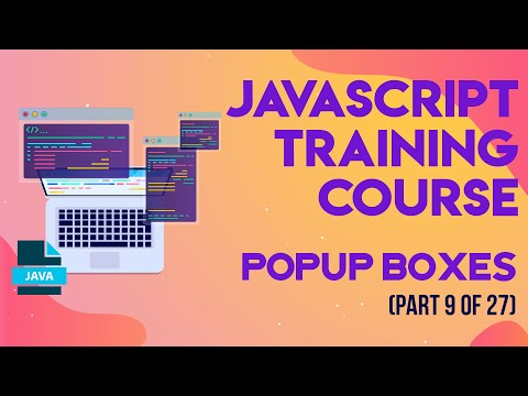 JavaScript Training in Urdu/Hindi - Part 9 Popup Boxes
