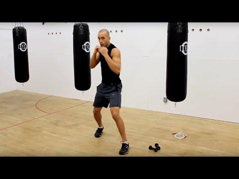 Boxing. 20 Minute In Home Boxing Workout. Boxe d'entraînemen. тренировка бокса