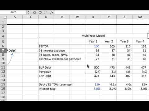Building a circuit breaker for managing a circular reference in excel