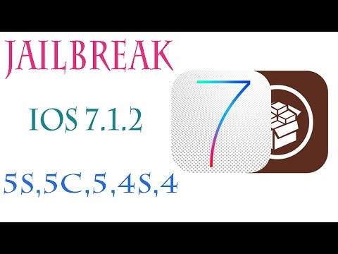 Jailbreak  ios 7.1.2 in Iphone 5s,5c,5,4s,4