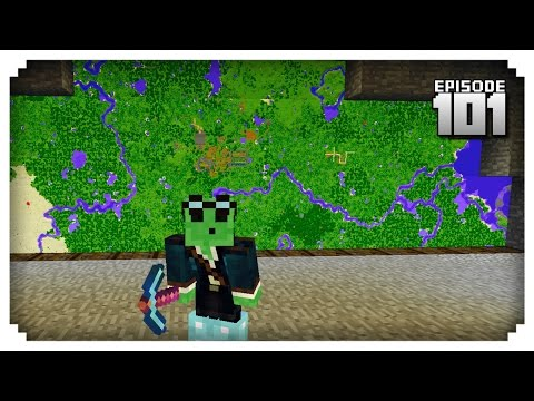Let's Play Minecraft PE - Ep.101 : Super Mega Map Wall!