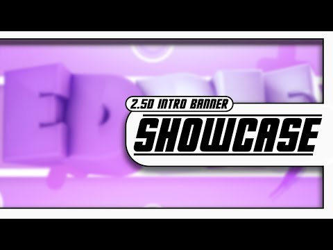 FREE GFX #14   2.5D INTRO Banner for EddieXO   Support PLS