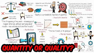 Why Quantity Should Be Your Priority
