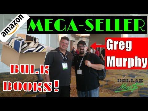 Million Dollar Book Seller Greg Murphy, Bulk Books, and Bus Proof Business! Amazon FBA Pro Seller!