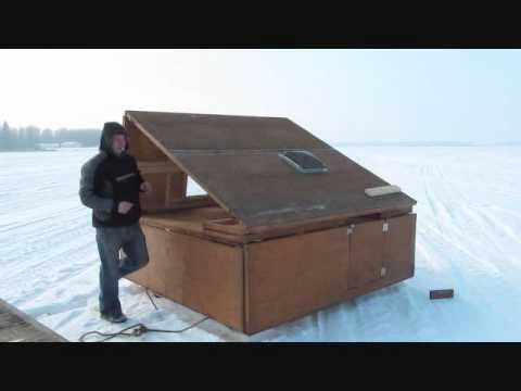 Portable Ice Fishing Shelter