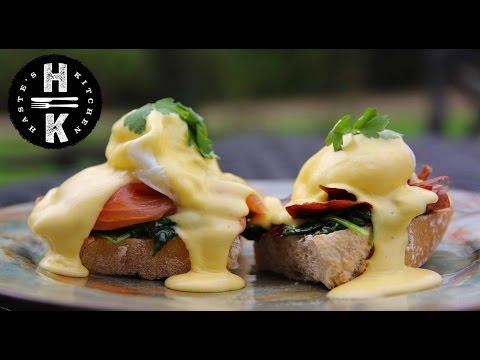 The easiest Hollandaise Sauce - Eggs Benedict  #Ad