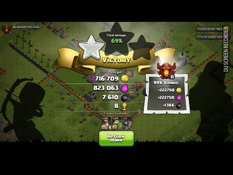 Unlimited troops in clash of clans hack game use.and best  loot.