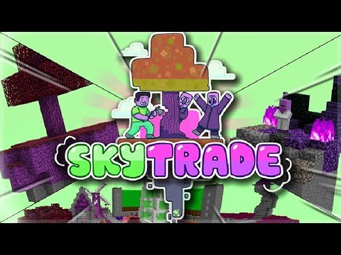 THE SKY VILLAGERS ADVENTURE!! SKY TRADE Minecraft SkyBlock Survival! (1)