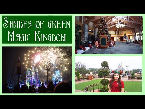 Shades of Green and Magic Kingdom