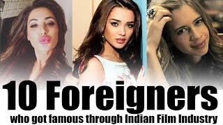 10 Foreigners who got famous through Indian Film Industry | Simbly Chumma
