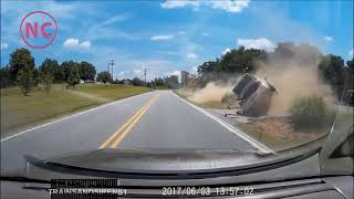 Bad Drivers And Car Fails Caught on Dash Cam #1