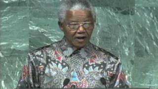 Nelson Mandela at the United Nations