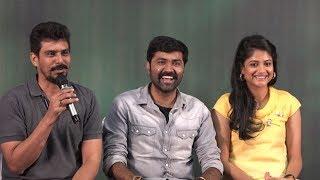 Aruvi - Movie Press Meet    Aditi Balan, Kavitha Bharathy, Arun Prabu Purushothaman, S.R. Prabhu