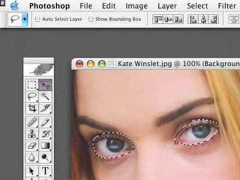 Photoshop Tutorials with Matt - Wet Eyes & Lips