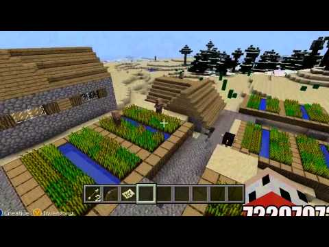 minecraft xbox Minecraft (PS3 / XBOX360) Naturally spawning Iron Golem and baby villagers