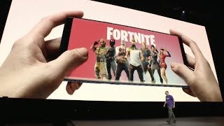 Fortnite Android Beta announced in Samsung Galaxy Note 9 Unpacked Event