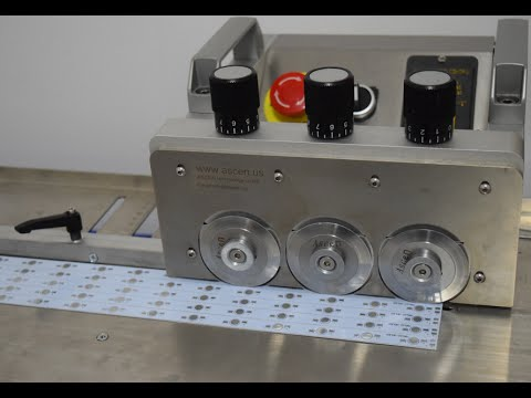 how to adjust PCB cutting wheel for LED cutting machine/depaneling LED board