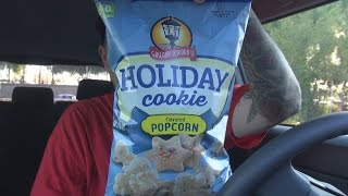 Carbs Gaslamp Popcorn Holiday Cookie Flavored Popcorn