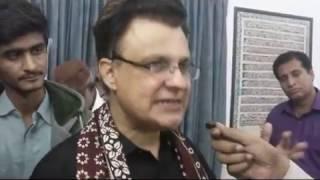 Ayaz Latif Palijo about China Pakistan Economic Corridor ( CPEC) & ZufqarAbad & Expose PPP
