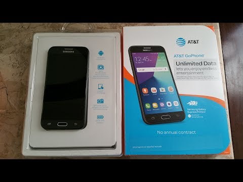 Unboxing Latest Samsung Express Prime 2 Smartphone AT&T Go Phone Full HD 2017