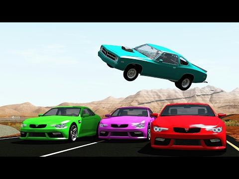Insane High Speed Crashes - BeamNG.Drive •ShowMik