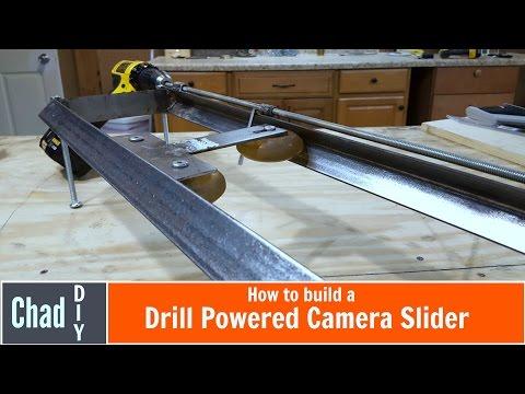 Drill-Powered Camera Slider