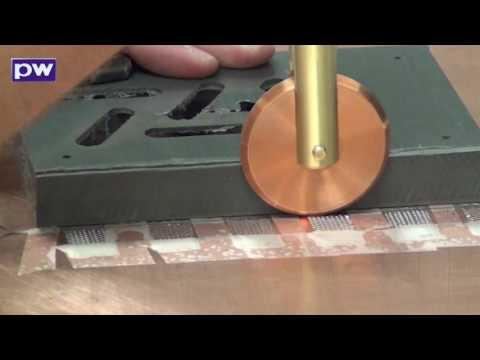 Roll Spot & CD160 -  Stainless Steel mesh to Stainless Still foil 092612