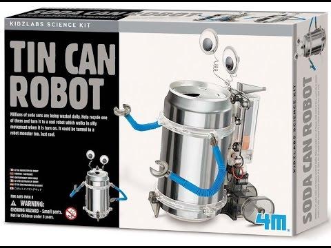 Review: 4M Tin Can Robot