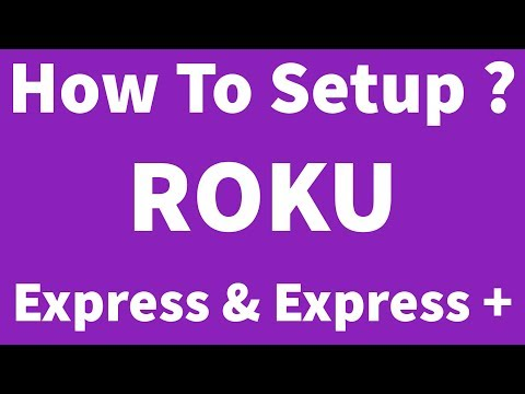 How To Setup Or Install Roku Express/Express+ & Create Account Without Credit Card
