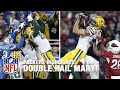 Aaron Rodgers Hail Mary Tds Side By Side 2015 2016 Nfl Seaso