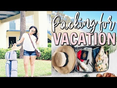 HOW TO PACK FOR A VACATION 💼 | PACKING FOR A CARIBBEAN CRUISE 2018 | Page Danielle