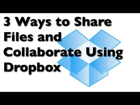 What is Dropbox? 3 Ways to Share Files and Collaborate Using Online Cloud Storage
