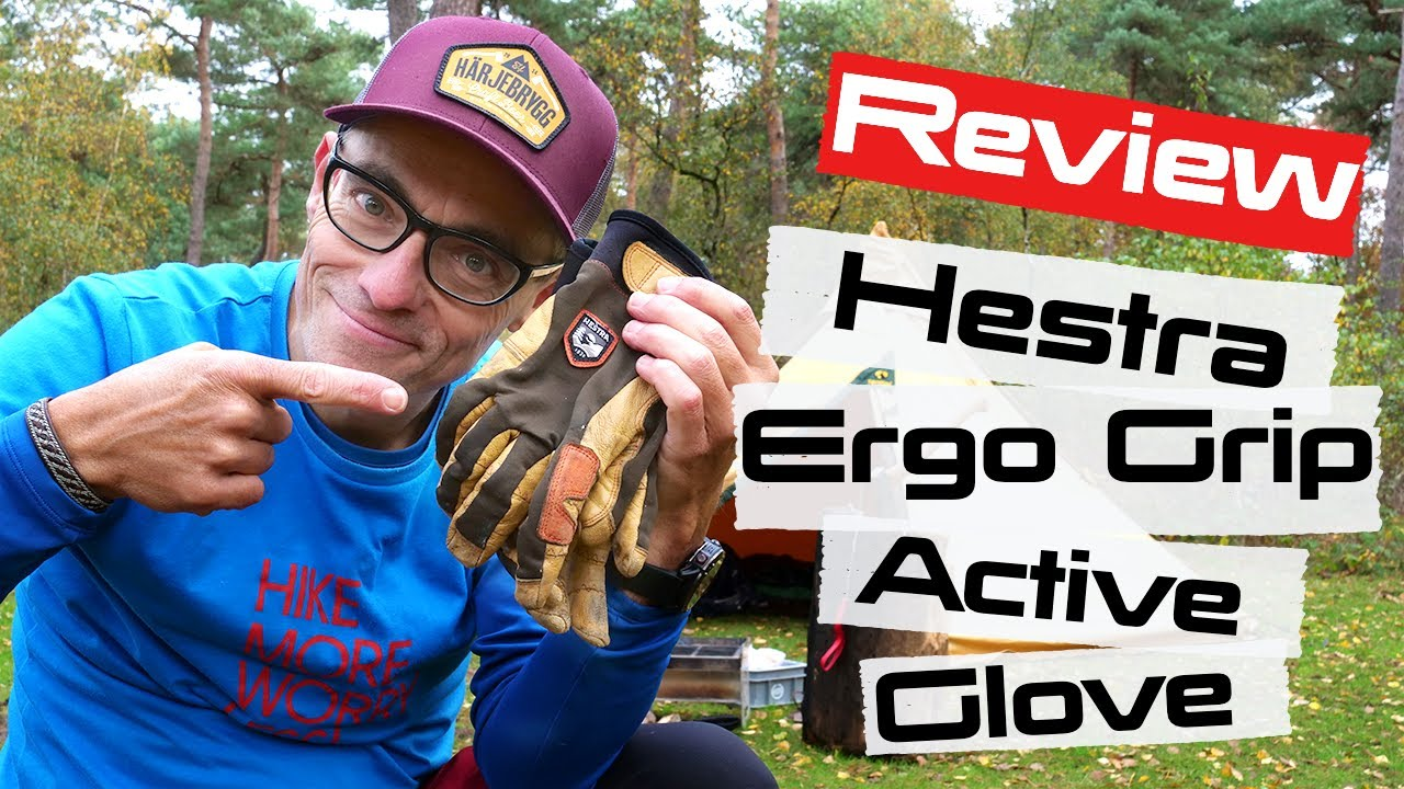 HESTRA ERGO GRIP ACTIVE GLOVE REVIEW | AFTER 3-YEARS OF OUTDOOR LIFE