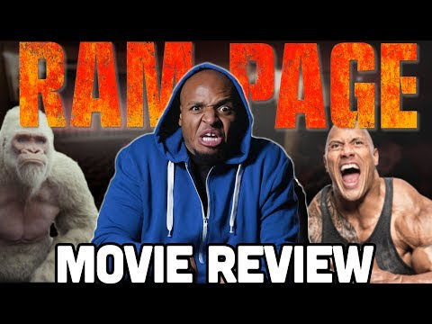 'RAMPAGE' Review - Tear Down the City!