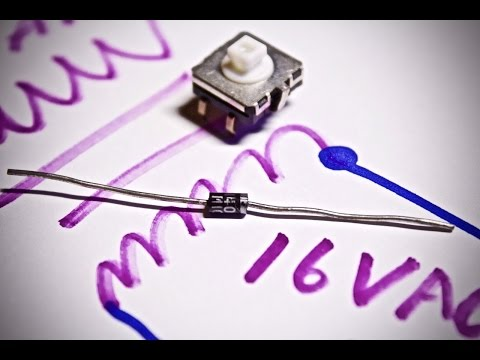 Purpose of the Diode in Doorbell Circuits?  Test circuit and Experiment!