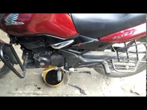 How to change Engine Oil in Honda unicorn