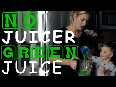 How To Make Green Juice In A Blender
