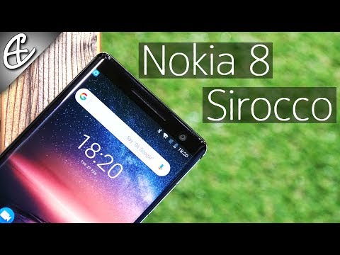 Nokia 8 Sirocco - The Best Nokia Yet!  - Hands On