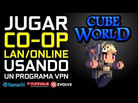 Descargar Cube World v0.1.1 + Cooperativo LAN/Online Hamachi, Tunngle o Evolve