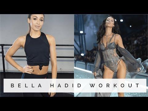 BELLA HADID WORKOUT | Danielle Peazer