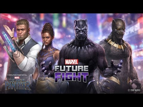 Marvel Future Fight Part 61 - Klaw Confirmed with Black Panther Update! Ultron to Tier 2!