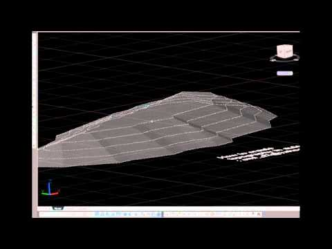 How to create topography in autocad
