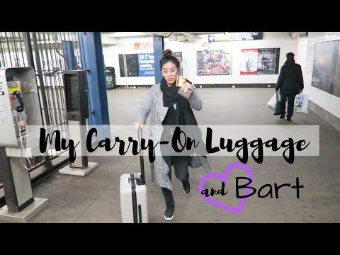 Best Carry-On Luggage  |  Flight Attendant Life  |  VLOG 8