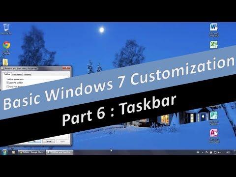 Customize the Taskbar in Windows 7 (part 6)