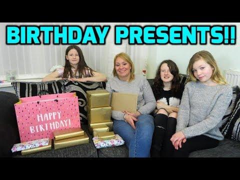 Opening Presents - Prankster Kids Moms Birthday!