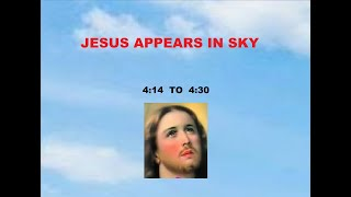 JESUS APPEARING IN SKY