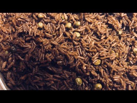 Diri Djon Djon (Haitian Black Rice) Recipe