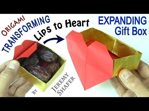 Origami Transforming Gift Box