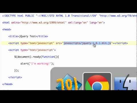 Installing and Using jQuery - jQuery Tutorials for Beginners