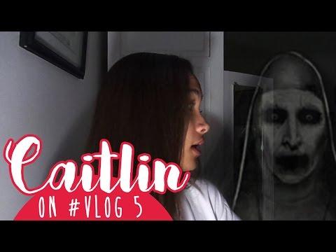 Caitlin on #VLOG 5 - DIBAJAK, HORORR!!
